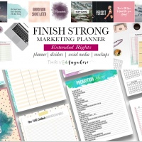 Finish Strong Marketing Planner