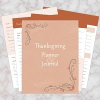 Thanksgiving Planner & Journal