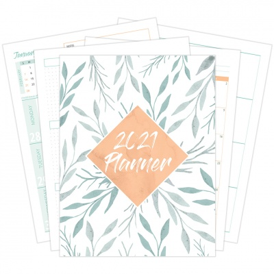 2021 Three Column Planner