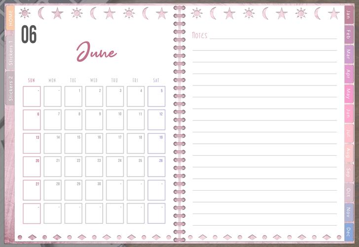 Createful Journals 2021 Calendar Foundation Kit